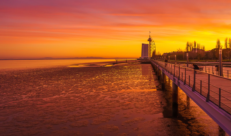 Amazing Lisbon Sunset Light Colors Photography 4 By Messagez com