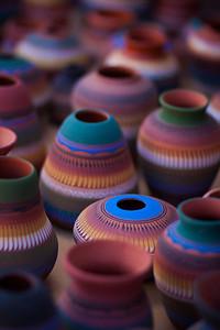 Vases in Santa Fe Market