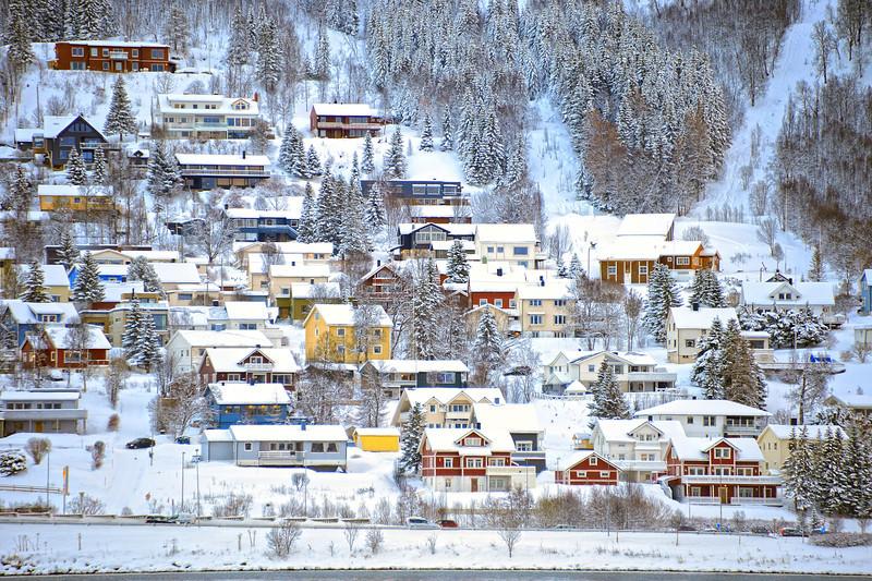 Tromso Hillside, Tromso, Norway