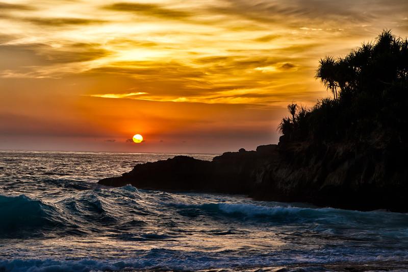 Sunset in Nusa Lembongan II