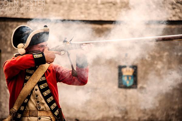 Soldier at Fort Niagara