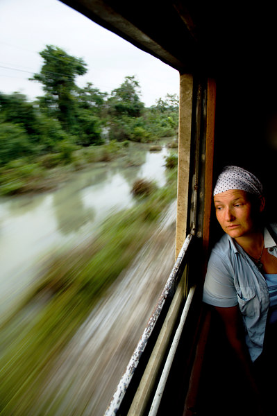 Anja - on route to Nakhon Si Thammarat, Thailand