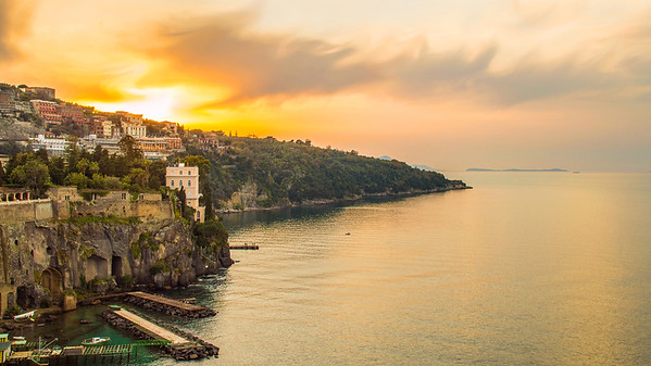 Sorrento, Italy Sunset