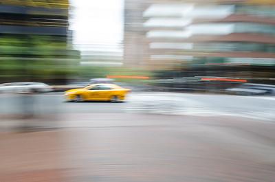New York.  Yellow Cab