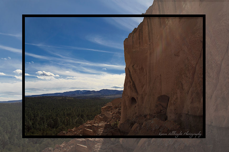 Puye Cliff Dwellings, New Mexico