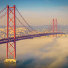 Original Lisbon 25th of April Bridge Landscape Photography 14 By Messagez com