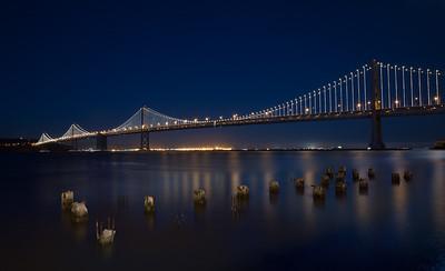 Bay Bridge, San Francisco CA.