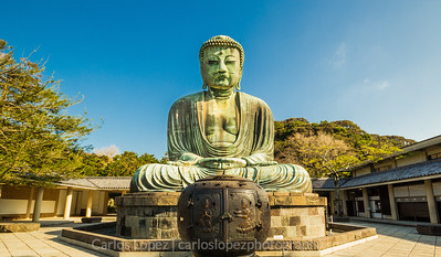 Large Buddah in Kamakura, Japan.