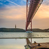 Under The Lisbon Bridge Reflection Fine Art Photography 4 By Messagez com