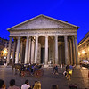 The Pantheon in Rome at night. Credit:  Diana Robinson/Mayoral Photography Office