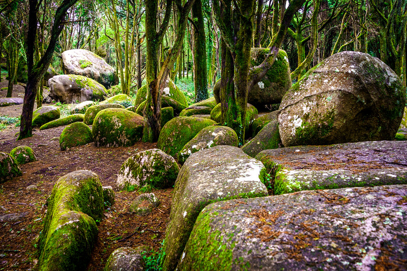Original Sintra Peninha Megalithic Stones Photography By Messagez com