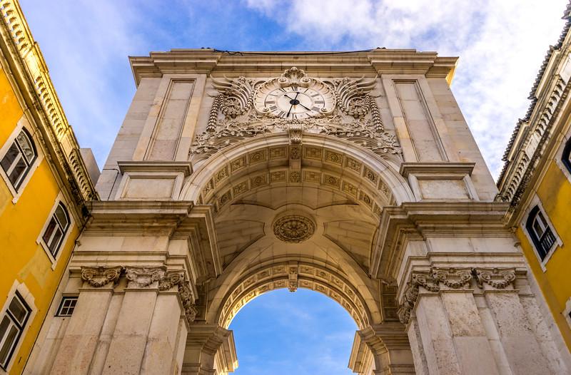 Lisbon Arco da Rua Augusta Photography By Messagez com