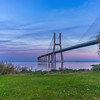 Vasco da Gama Bridge at Sunset Photography By Messagez com