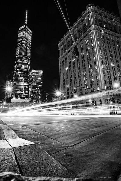 World Trade Center at Night
