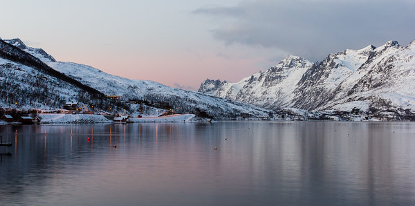 Kaldfjord, near Tromsø.