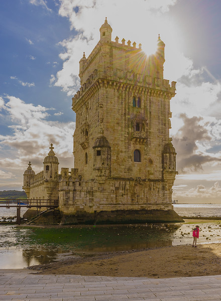 Original Lisbon tower sunshine Art Photography 2 by Messagez com
