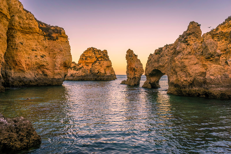 Portugal Algarve Magical Coast at Sunset Photography 6 Messagez com