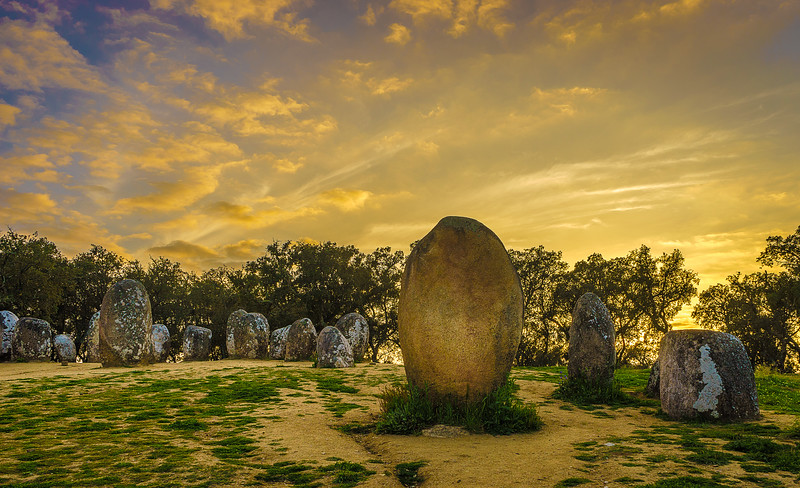 Portugal Cromlech of the Almendres Megalithic Magic Photography 48 By Messagez com
