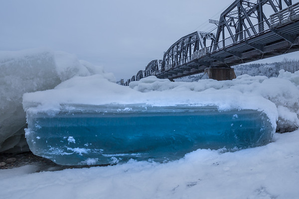 Fraser and Nechako River Ice Jam