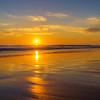 Lisbon Carcavelos Beach at Sunset By Messagez com