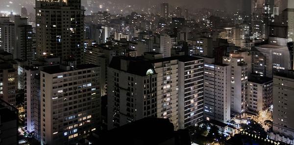 The concrete jungle, São Paulo, Brazil
