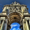 Lisbon Plaza Entrance By Messagez.com