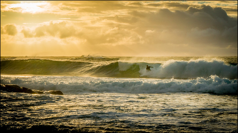 Sunrise in Kauai - Shipwreck Beach, Poipu