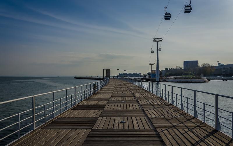 Lisbon Nations Park Bridge Photo