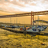 Under The Lisbon Bridge Art Photography 6 By Messagez com