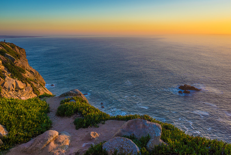 Portugal Atlantic Ocean Sunset Viewpoint Photography 5 By Messagez com