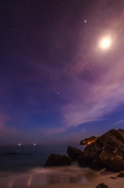 Arrabida Beach Moonshine Halo Photography By Messagez com