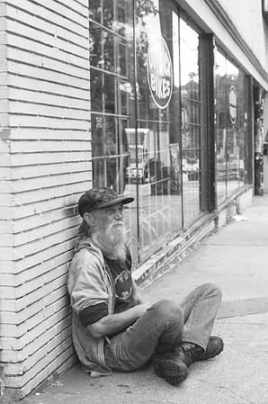 Taken on Analogue Film - Little 5 Points, Atlanta, USA.