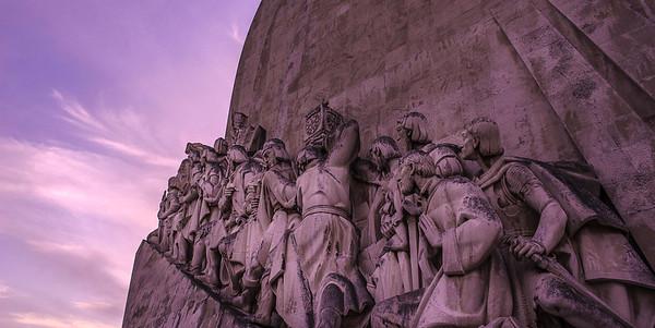 Original Lisbon Monument to the Discoveries Photography 3 By Messagez com
