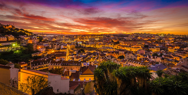 Best of Lisbon Sunset Photography 6 By Messagez com