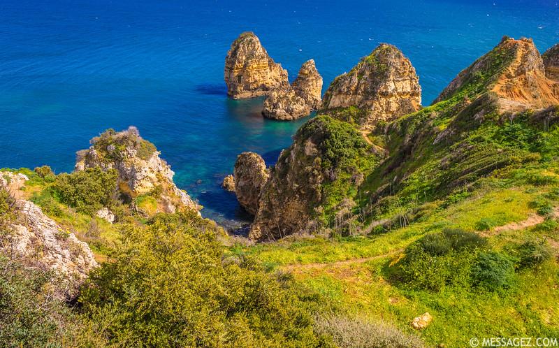 Unique Portugal Algarve Coastline Photography 2  Messagez com