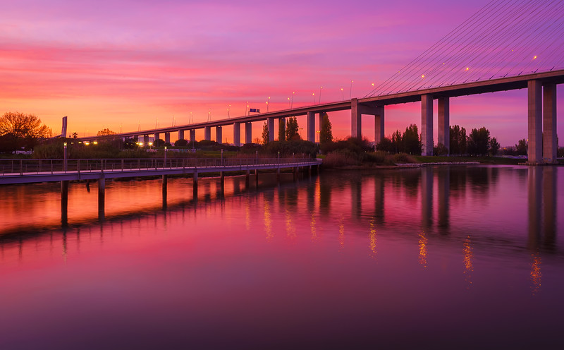 Magic Portugal Lisbon Sunset Reflection Photography 3 By Messagez com