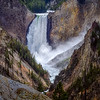 Lower Falls of the Yellowstone River, Yellowstone National Park, Wyoming