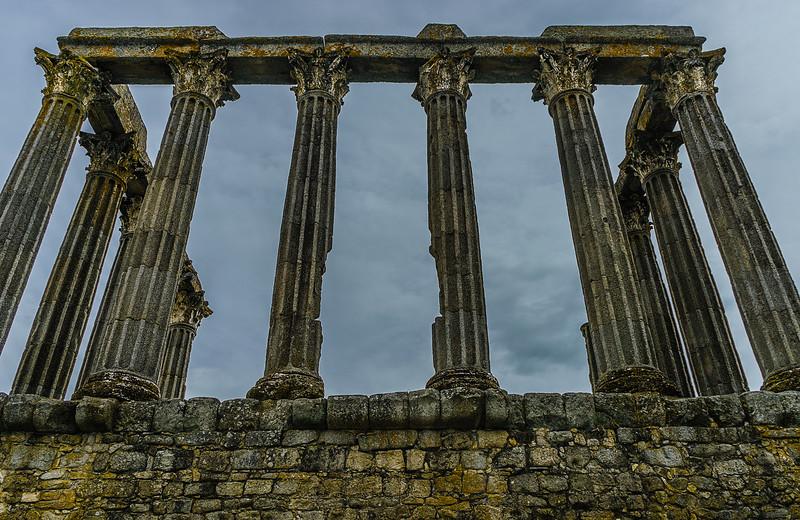 Portugal Evora Temple Photography 3 By Messagez com