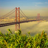 Original Lisbon 25th of April Bridge Landscape Photography 8 By Messagez com