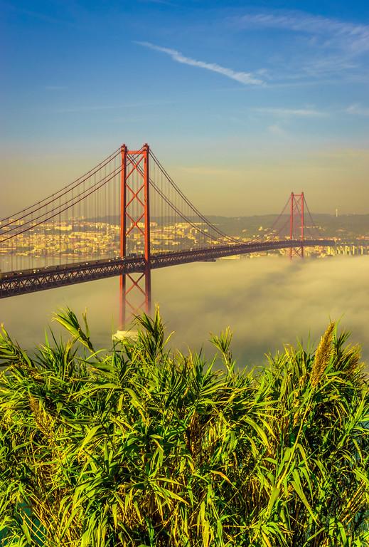 Original Lisbon 25th of April Bridge Landscape Photography 8 By Messagez com