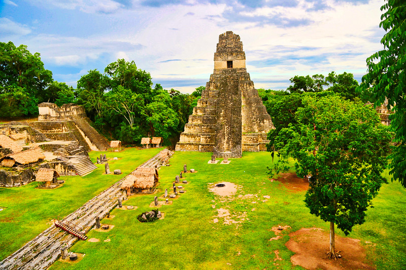 Pyramid of the Great Jaguar at Tikal