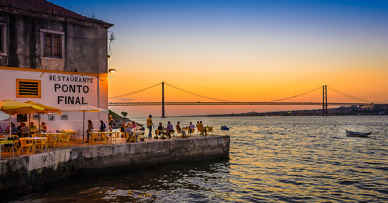 Best of Lisbon Bridge Sunset Photography By Messagez com