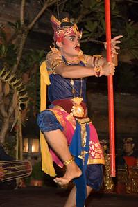 Fire Dancer, Ubud, Bali