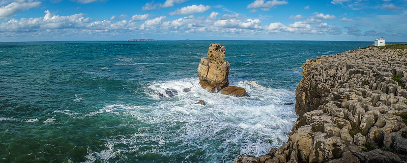 Original Portugal Peniche Coast Panorama Photography By Messagez com