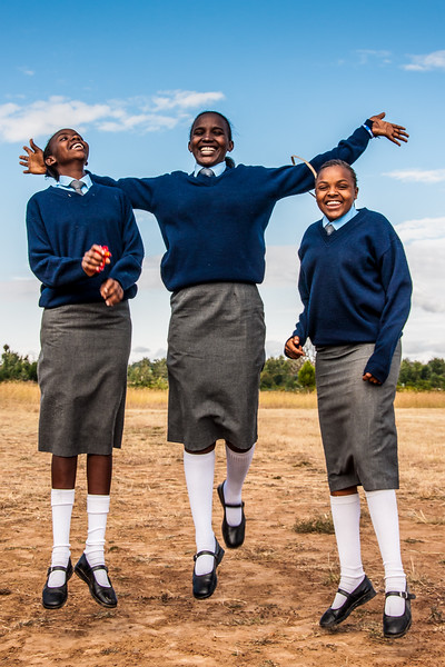 Students of Daraja Academy, Kenya