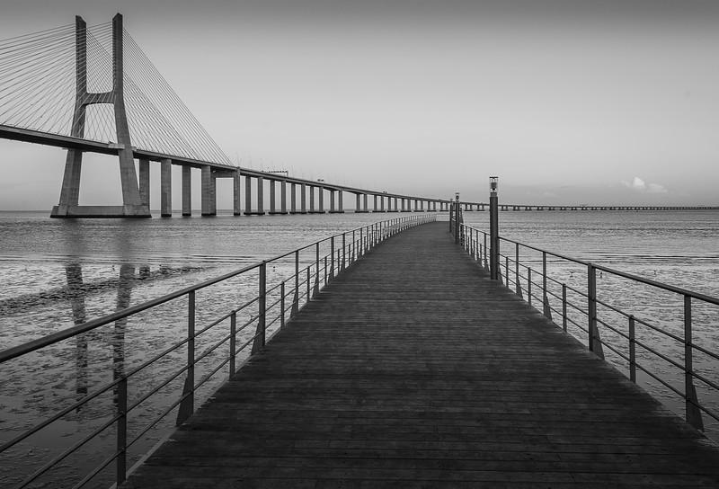 Another View at Lisbon Vasco da Game Bridge Photography 4 Messagez com