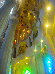 Windows of Sagrada Familia