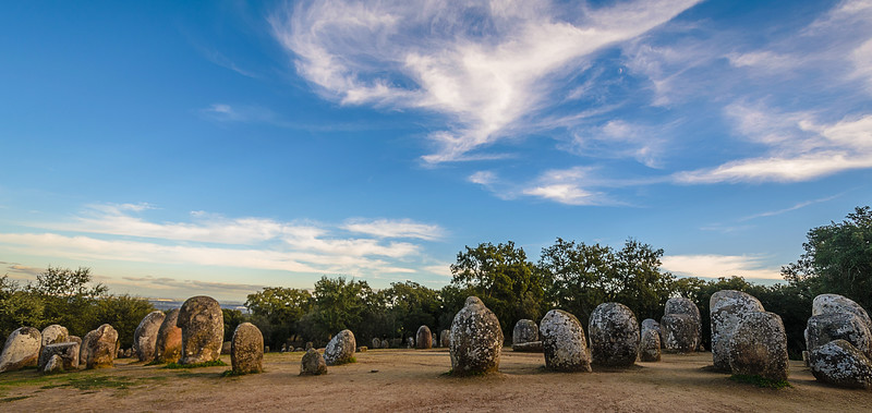 Portugal Cromlech of the Almendres Megalithic Magic Photography 15 By Messagez com