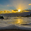 Portugal Beach at Sunset Fine Art Photography 3 by Messagez com