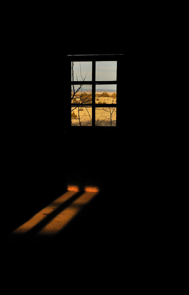 Light Through Window in Santa Fe, New Mexico